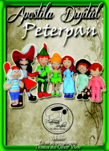 "APOSTILA DIGITAL DE MOLDES TEMA ""PETER PAN"""