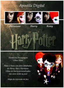 "Apostila Digital de Moldes ""Harry Potter"""