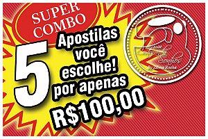 COMBO DE 5 APOSTILAS