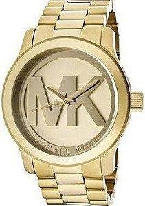 Relógio Michael Kors Mk6209 Kinley Pave Dourado - New Store - A ... 8cf645b3dc