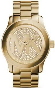 39b56dad8a90e Relógio Michael kors Mk6437 Rose Gold Pave Cristais - New Store - A ...
