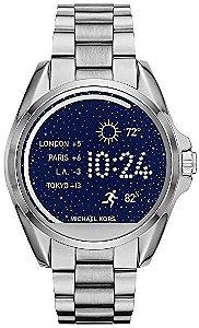 03da368a397de Relógio Michael Kors Mk6099 Prata Dial Azul - New Store - A melhor ...