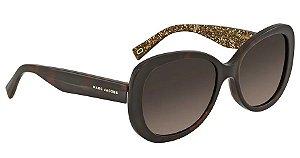 6c3936eb39862 Óculos de Sol Marc Jacobs Marrom Gradiente MARC 261   S 0DXH LA 56