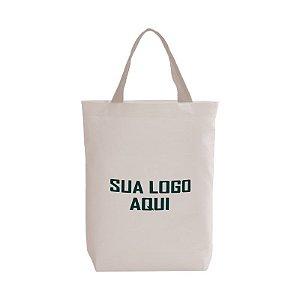 SACOLA DE ALGODÃO CRU COM FUNDO 35x45x6cm (LarguraxAlturaxFundo)