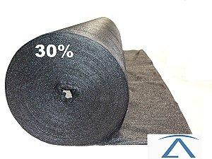 Sombrite Tela De Sombreamento preta 30% 4 x 50