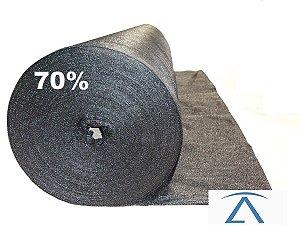 Sombrite Tela De Sombreamento preta 70%  1,5 X 10