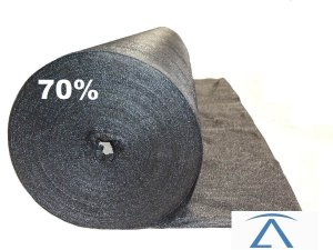 Sombrite Tela De Sombreamento preta 70% 1,5 x 40