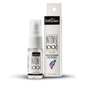 Loção para Massagem Intense Loob 12ml Hot Flowers