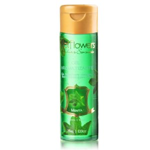 Gel Aromatizante Menta - Sexo Oral - Esquenta - 35ml Hot Flowers