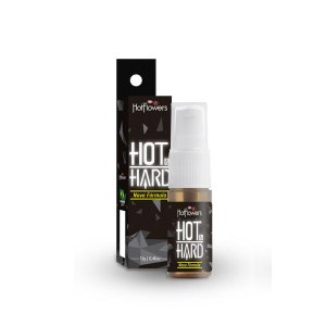 Gel Hot & Hard Spray - Provocador de Ereção - 13gr Hot Flowers