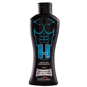 Sabonete para Higiene Masculina Sinta o Frescor Antes e Depois da Hora H 130ml Hot Flowers