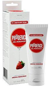 Lubrificante Prudence Gel Morango - 60g