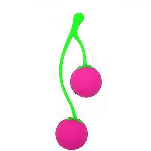 Bolinha de Pompoar Intimate Kiss - Rosa