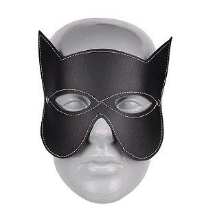 Mascara Mulher Gato - Grande - Preta
