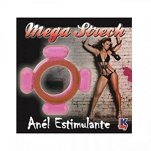 Anel Peniano Mega Strech - Rosa - 1 unid - Vários Modelos