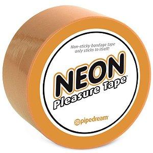 Fita Para Amarrar - Neon Bondage Tape Orange - Pipedream