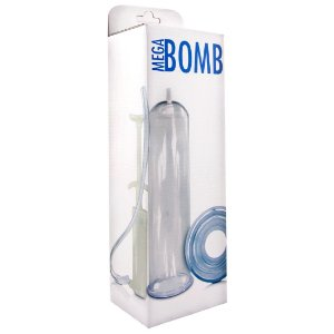 Bomba Peniana - Mega Bomb - Manual - Transparente - Gtoys