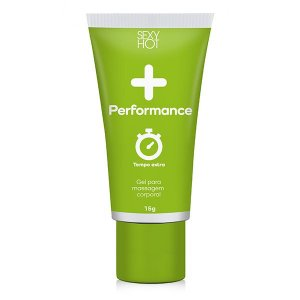 + Performance Sexy Hot - Gel Masculino - Retarda Ejaculação 15g