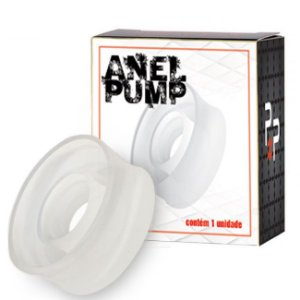 Anel Pump para Bomba Peniana - Transparente