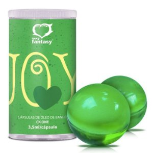 Bolinhas de Óleo Corporal para Massagem - Joy Green