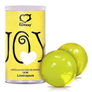 Bolinhas de Óleo Corporal para Massagem - Joy Yellow