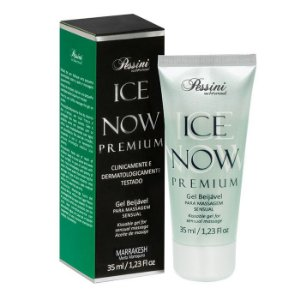 ICE NOW PREMIUM MARRAKESH - Gel térmico beijável sabor menta 35ml - Pessini