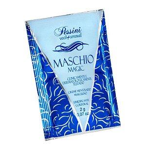 Creme Masculino com Funções 4x1 - 3 sachês 2g cada - MASCHIO MAGIC - PESSINI