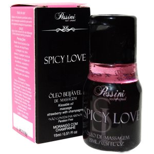 Spicy Love Morango com Champanhe 15ml Pessini