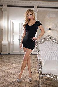 Vestido Mini Preto - Costas com Tiras