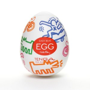 MASTURBADOR Tenga EGG - Keith Haring Egg Street