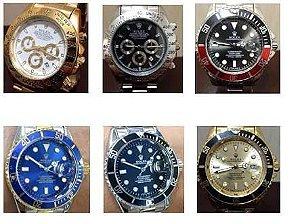 b40728636cb Kit 10 relógios rolex com caixa