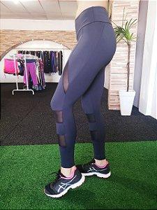 Legging Recorte Tule
