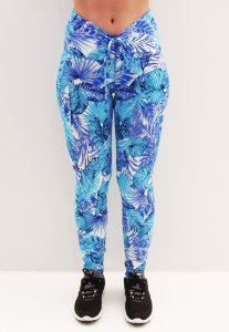 Legging Cós Franzir Floral People Fit - M