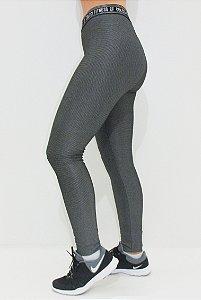 Legging Escura Preto/Branco - COLCCI