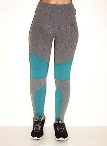 Legging Fashion - Mescla/Verde