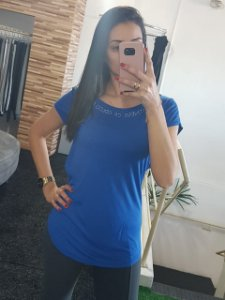 Blusa 365700159 - Azul Royal - COLCCI