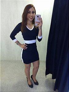 Vestido Slim 3/4 - Casual