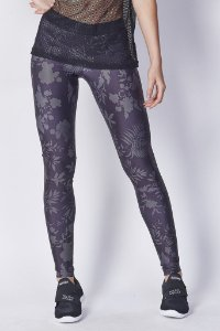 Legging Estampada Atletic Flowers 25700498 - Colcci
