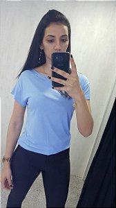 Camiseta Estampada Azul 345700080 - Colcci