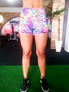 Short Curto Light - Estampado Summer