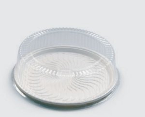 Embalagem PET - Torta Grande - Sanpack S60 - pacote com 10 unidades
