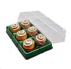Candy box - 6 cavidades - pacote com 10 unidades
