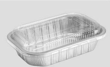 Bandeja SW1000 - caixa com 25 unidades - com tampa pet 1.000ML - Microondas / Forno / Freezer - Wyda