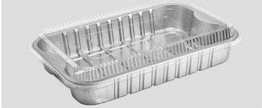 Bandeja SW1933 - 1933ML - Microondas / Forno / Freezer - WYDA - com tampa PET - caixa com 25 unidades