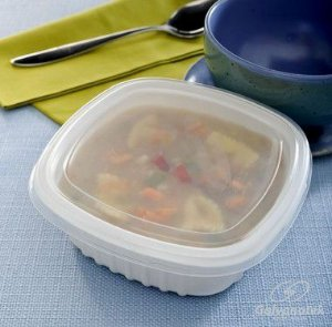 Embalagem Pote Para Freezer E Microondas - Galvanotek G 308 - pacote com 10 Unidades