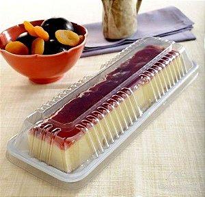 Embalagem para torta ou fatia de bolo caixa com 100 unidades 400g - G 63 - Galvanotek