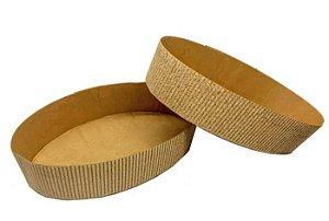 Forma para colomba 500g oval pacote com 10 - Petropel