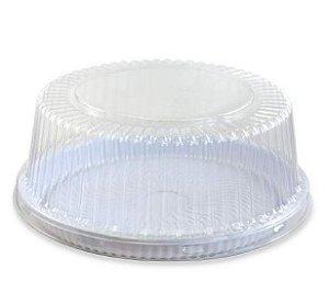 Embalagem torta branca pequena 1.5kg caixa com 50 - G50MM - Galvanotek