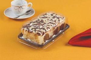 Embalagem preta torta bolo 200g caixa com 150 unidades - G62S - Galvanotek
