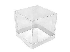 Caixa para mini bolo branco pacote com 10 - Assk